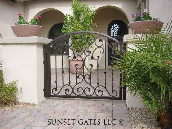 12 Best Wrought Iron Gates Images On Pinterest Wrought
