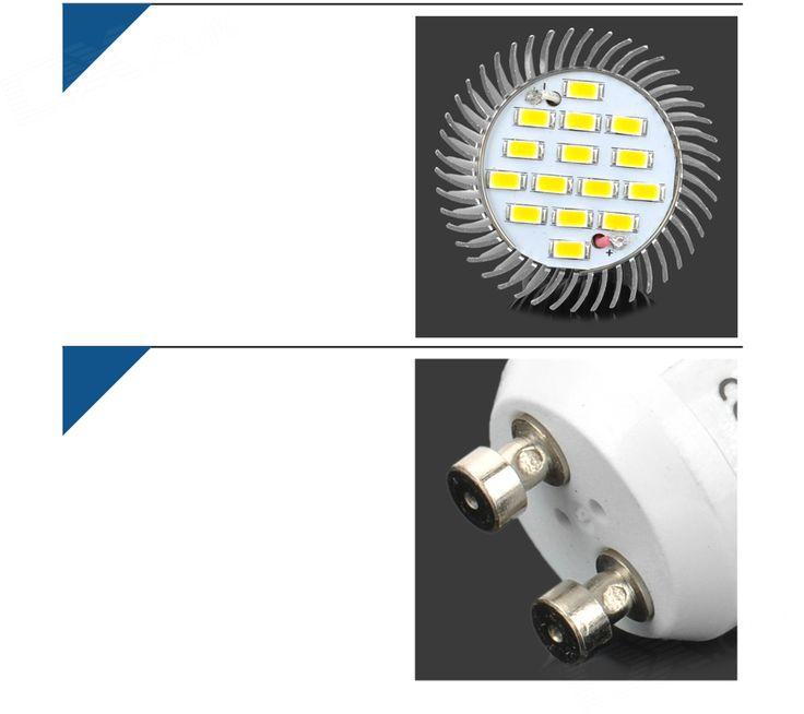 LeXing GU10 7.5W SMD LED Spotlight Warm White 3500K 720lm (AC 85~265V) - Free Shipping - DealExtreme