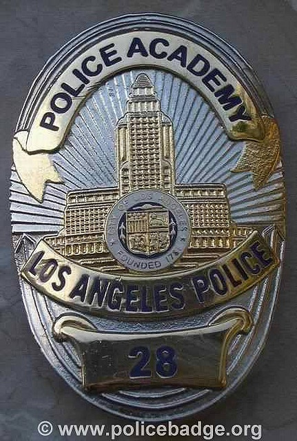 Badge LAPD Police Academy by dynamicentry122, via Flickr