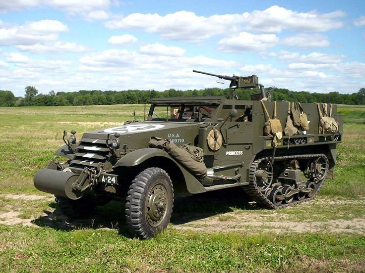 Carrier, Personnel Half-track M3