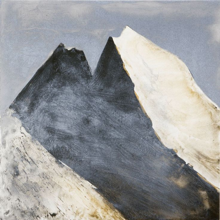 ROJAS RODRIGO | This painting is beautiful and we all know that drawing mountains isn't easy. The trick is to paint when the sun is low in order to capture the best angles of contrast.