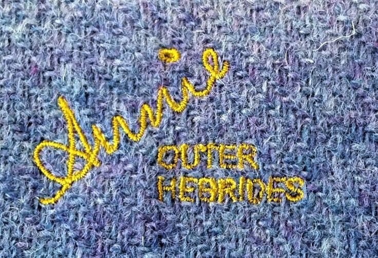 Bespoke makers labels for Harris Tweed items - please contact us for details.