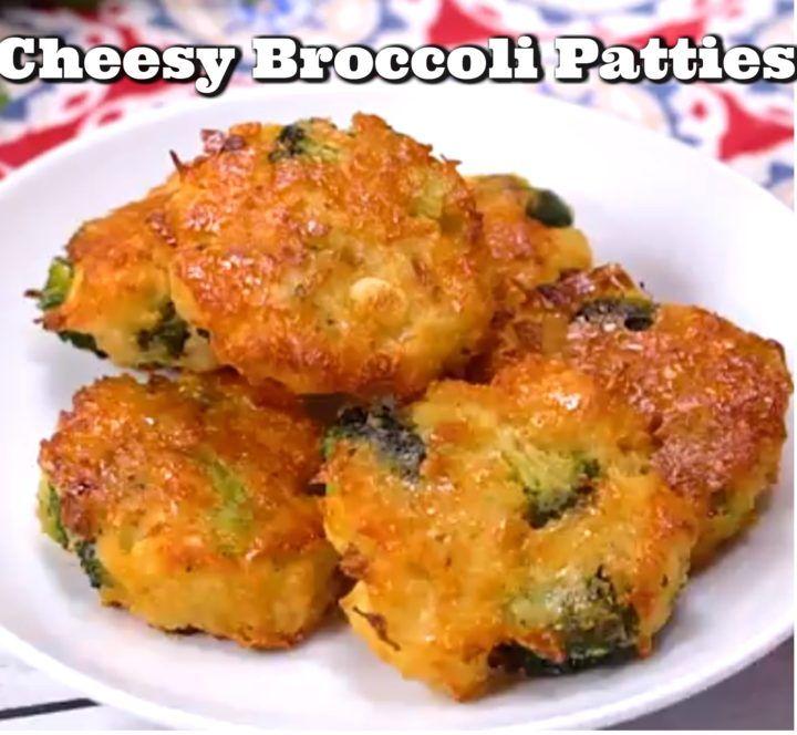 Cheesy Broccoli Patties!