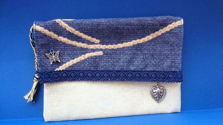 Heart and Butterfly Purse from Mikisantorini by DaWanda.com