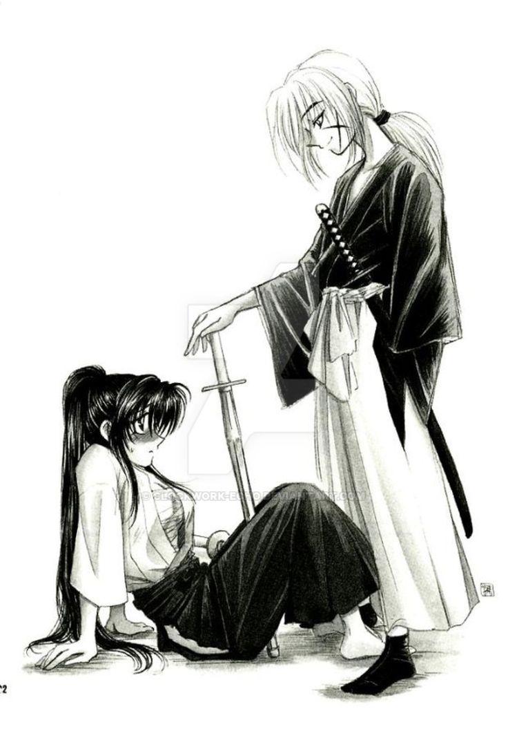 Kenshin, Kaoru (#Kenshin Himura #Rurouni Kenshin #Samurai X #Battousai #Kaoru Kamiya)