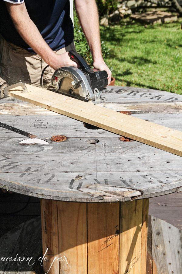 credit: Maison De Pax [http://www.maisondepax.com/2014/09/diy-industrial-spool-table.html]