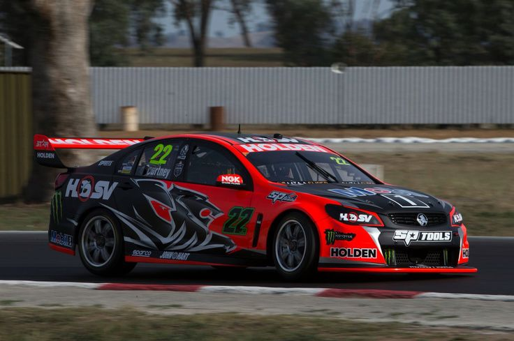 James Courtney testing for HRT 2016