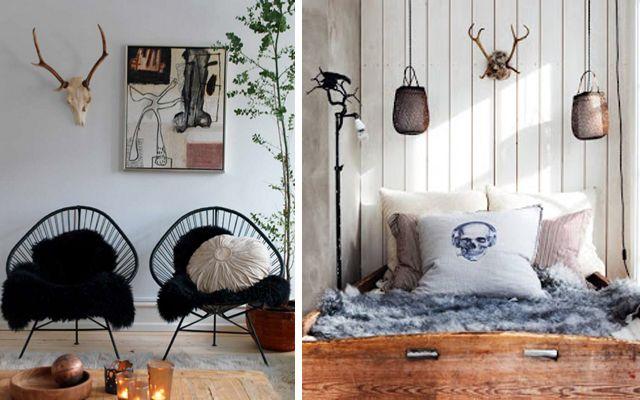 Decorar paredes con cabezas de ciervo several - Cabeza de ciervo decoracion ...