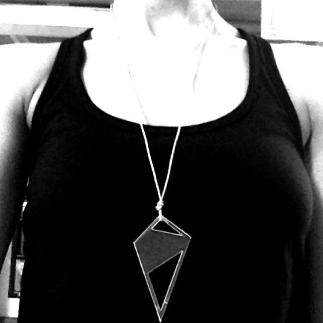 Chain in plexi from Mettako Design