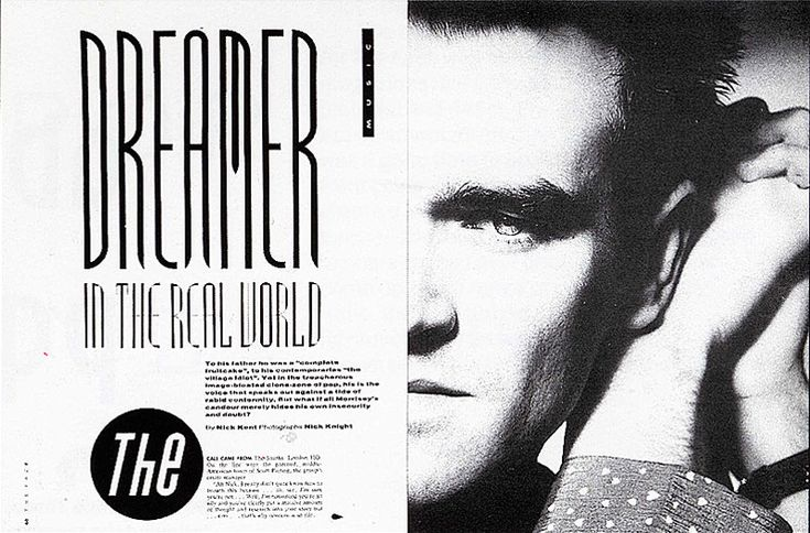 Neville Brody - The Face - Morrisey
