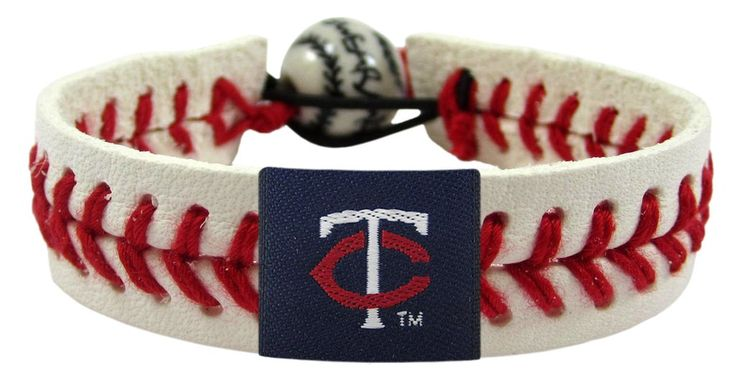Minnesota Twins Baseball Bracelet - Classic Style