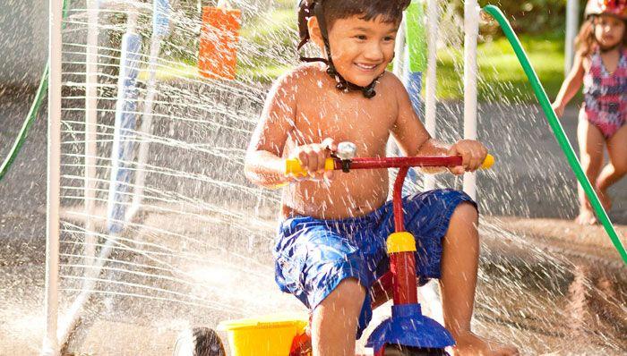 Kids' Car Wash Sprinkler