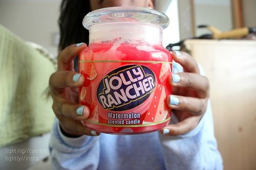 Jolly Rancher scented candle ♡