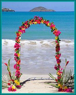 hawiian weddings | Beach Weddings and Beach Theme Wedding Flowers: Quick Tips and Advice