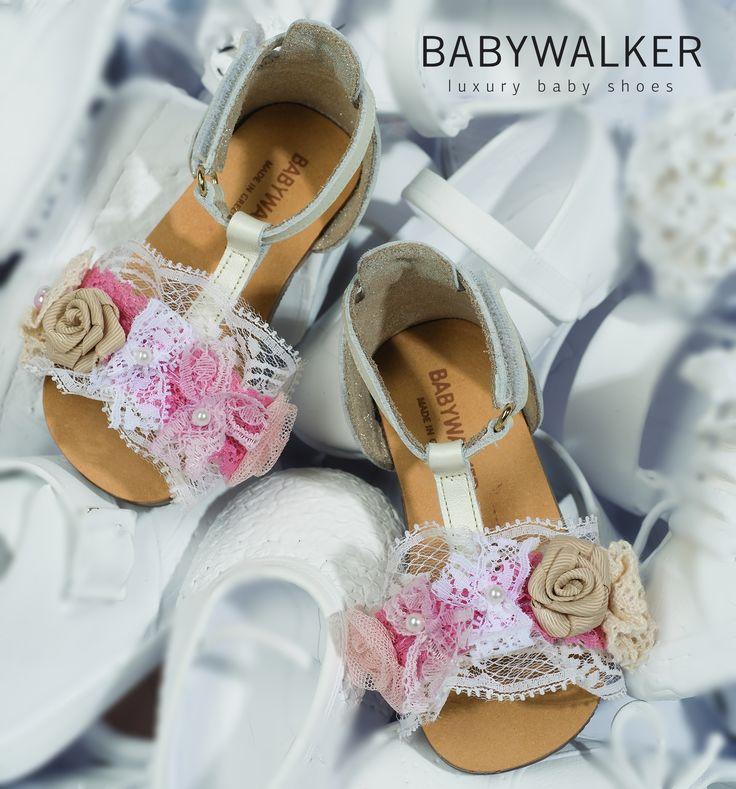 Handcrafted Vintage sandals by BABYWALKER #babywalker #shoes #babywalkershoes #kidsshoes #babyshoes #kidsfashion #vaptistika #babyfashion