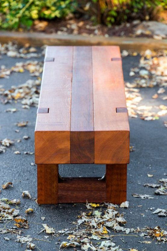 Rustic Outdoor Patio Garden Bench Made From Naturally Rot And Weather Resistant Rough Sawn Ced Wood Bench Outdoor Modern Outdoor Patio Pallet Furniture Outdoor