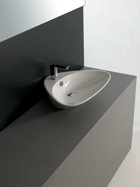 Artceram, #lavabo Plettro Design Meneghello Paolelli Associati #washbasin #bagno #small #bathroom