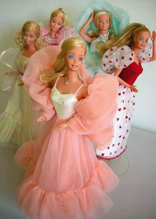 Peaches & Cream Barbie... I loved her! The heart Barbie was a close second! Wish I still had them for my daughter!