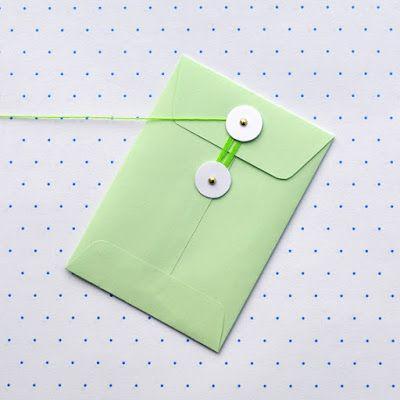 Creare con la carta ♥: Buste da lettera fai da te