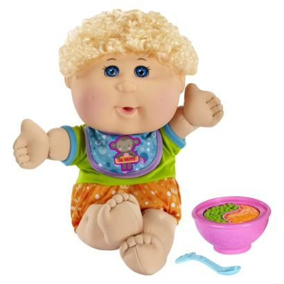 Cabbage Patch Kids Babies Caucasian Boy with Blonde Hair