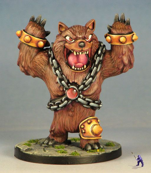 Cel: Bear from Super Dungeon Explore