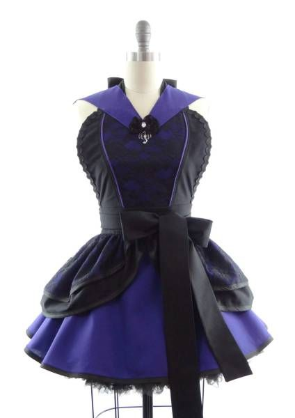 Maleficent Inspired Apron