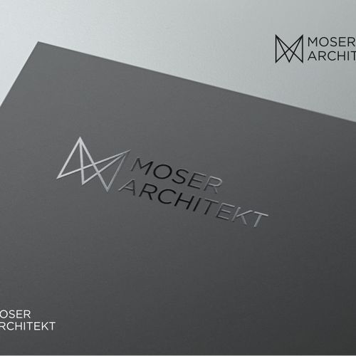 Minimalism for an architect. Design by generic art