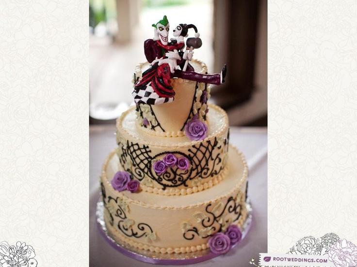 Joker And Harley Quinn Cake Harley Quinn Amp The Joker