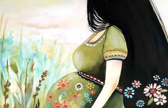 El embarazo dura nueve meses, ahí donde un cordón umbilical une dos corazones, dos mundos en uno donde acontece algo maravilloso.