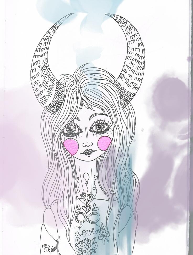 Maria Marfim (sketch) - São Marias project - 2012, by Maria Oliveira.