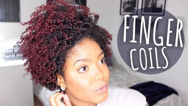 Styling Tapered Finger Coils [Video] - http://community.blackhairinformation.com/video-gallery/natural-hair-videos/styling-tapered-finger-coils-video/