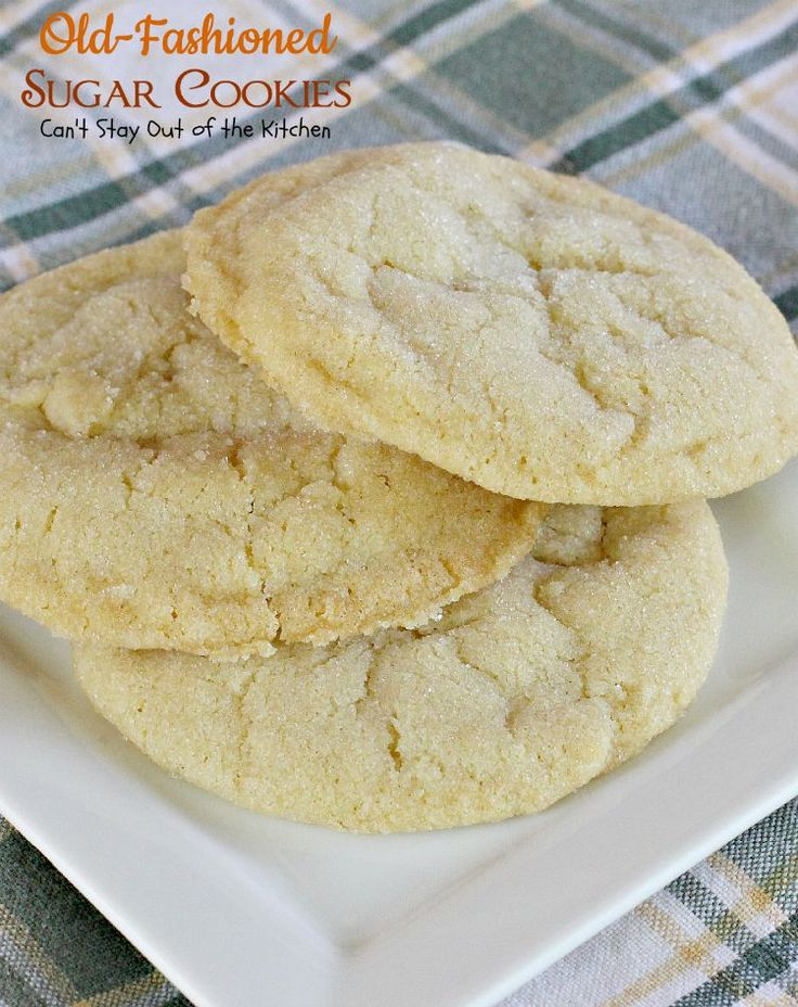 Fashioned Lemon Cookie Recipe: 17 Best Ideas About Old Fashioned Sugar Cookies On