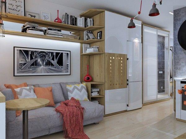 4 Kleine Wohnungen Zeigen Die Flexibilität Des Kompakten Designs