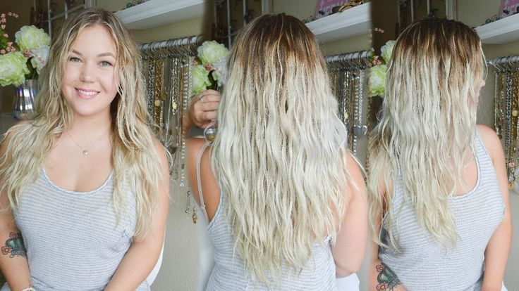 How to diffuse hair without frizz! WAVY & CURLY Hair