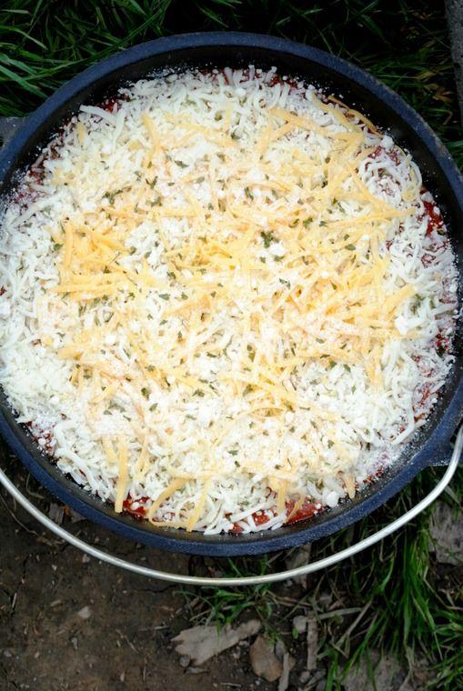 lasagna before cooking