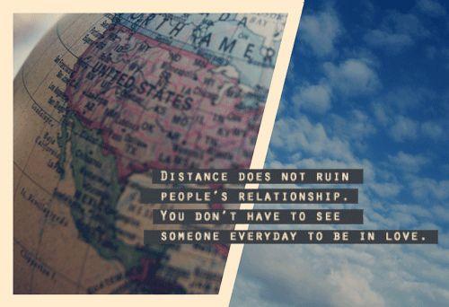 Long distance.