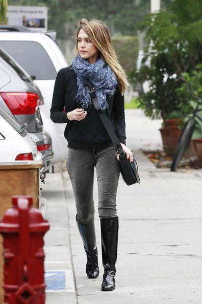 Winter Celebrity Street Style - Winter Celebrity Fashion