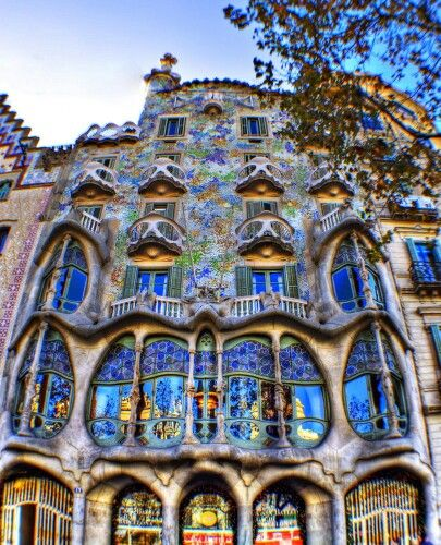 Casa Batlló, Gaudí.