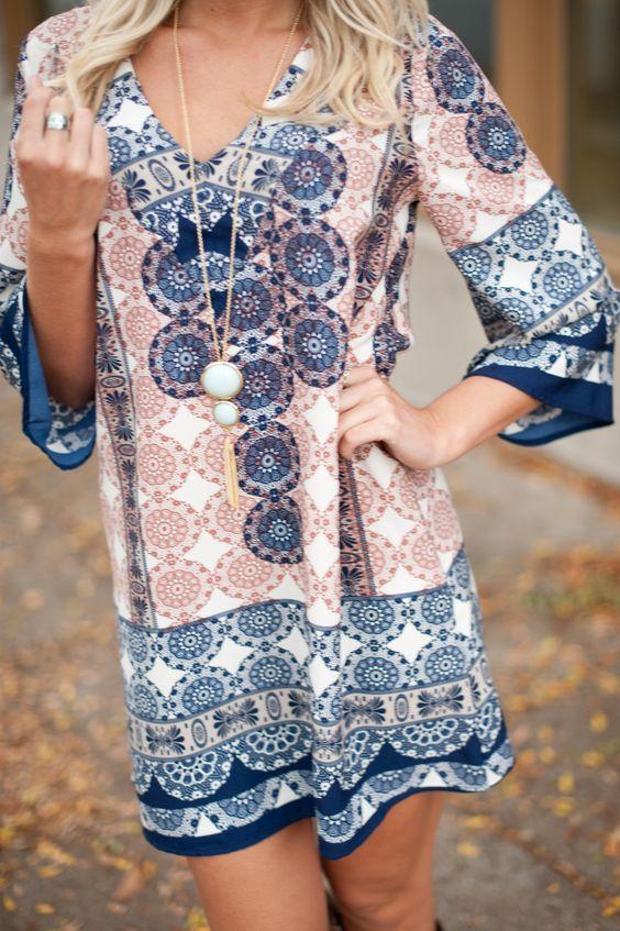 Tunic Dress. Boho tunic. Boho vibe. Bohemian dress. hippie fashion. Hippie chick.