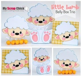 Little Lamb Belly Box Trio: click to enlarge