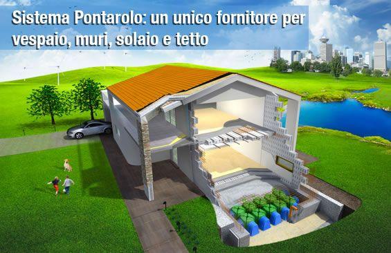 Un sistema di costruzioni innovativo, semplice e di elevata qualità.