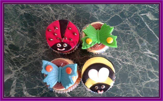 vanilkové cupcake
