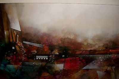 John-Douglas-Time-Span-Huge-Original-Mixed-Media-Oil-on-Canvas-Arizona