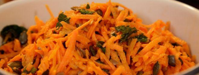 Zeste | Salade de carottes au cumin et à l'orange