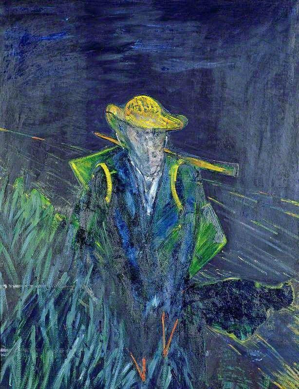 Μελέτη για ένα πορτρέτο του Βαν Γκογκ (1956)