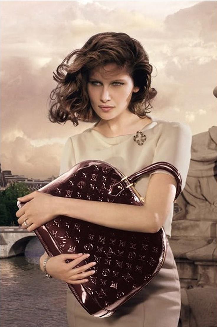 Louis Vuitton  Ad Campaign: Laetitia Casta
