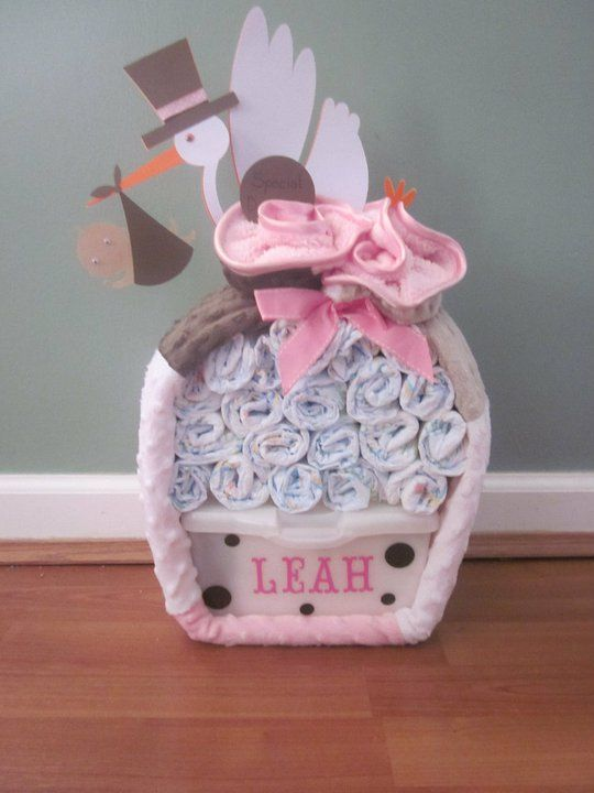 Baby Gift Ideas Myer : Diaper bundle baby shower ideas and decorating