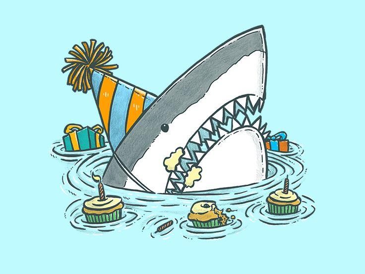 Поздравление от акулы с днем рождения