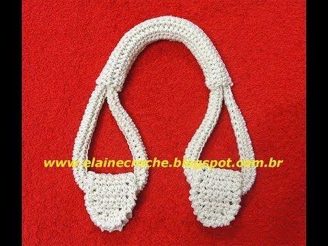 FILMPJE Croche - ALÇAS DE CROCHE PARA BOLSAS -Haken - Handvatten voor tassen