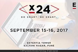 X24.2017 returns to Extentia for the third consecutive year. An annual hackathon – X24 will take place on September 15-16 this year. The 24-hour event requires participants to develop technology based solutions – from concept to pitch.